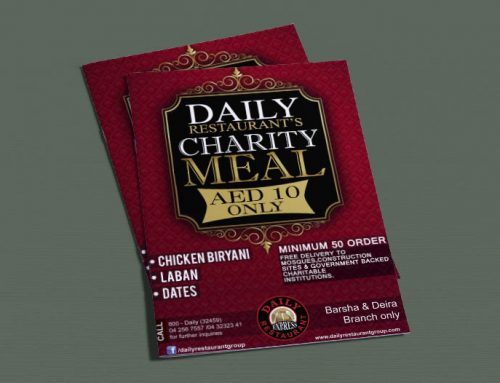 Daily Charity Menu