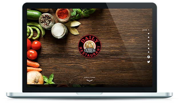 Daily Restaurant Website
