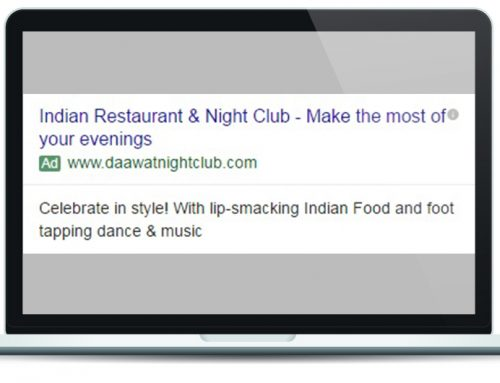 Dawat Night Club Google Ad