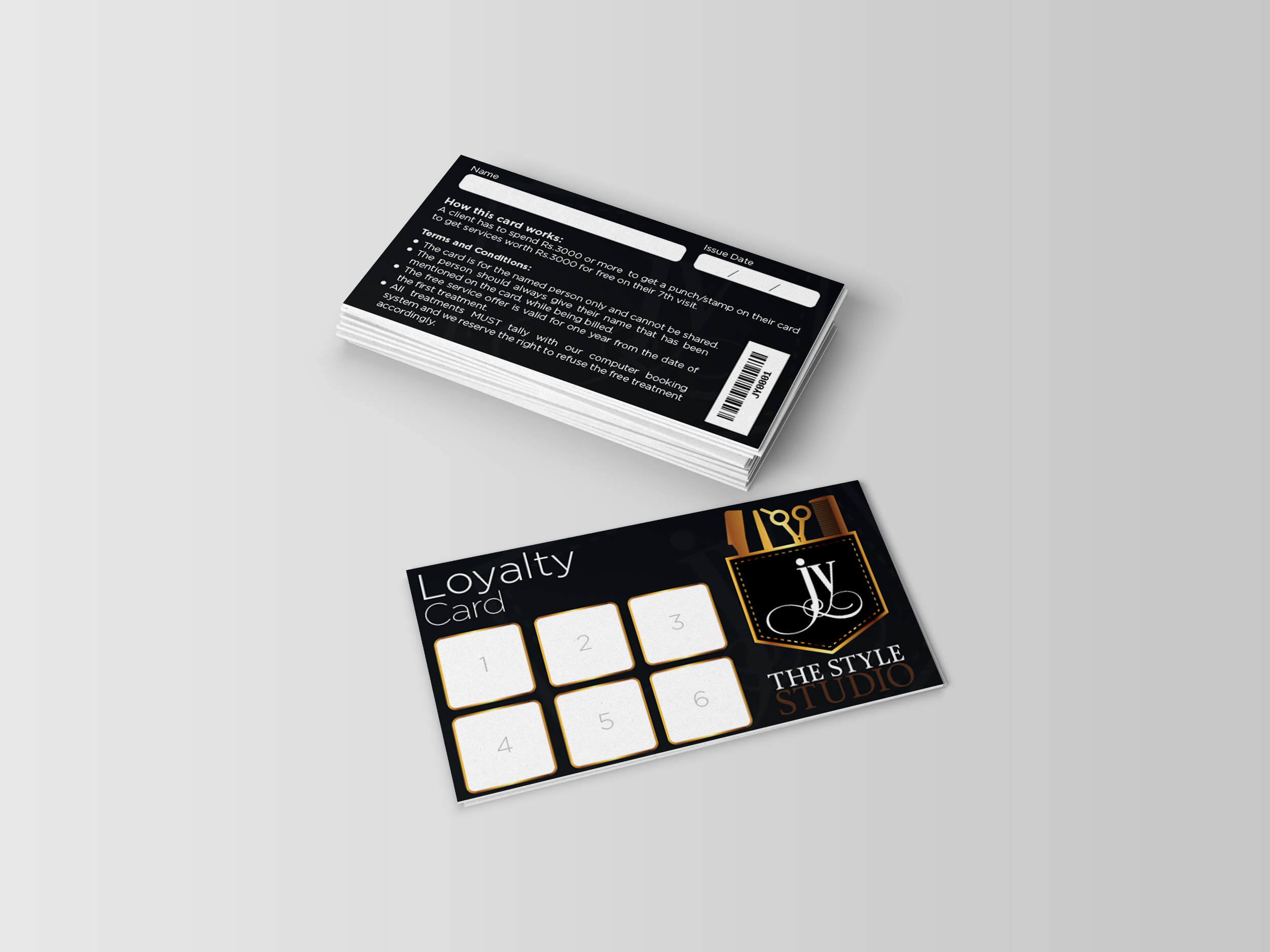 JY Loyalty Card