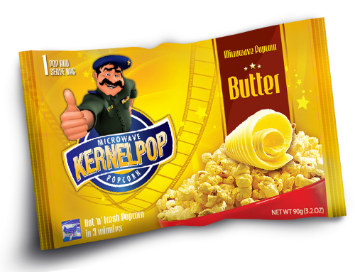 Kernel Pop Packaging