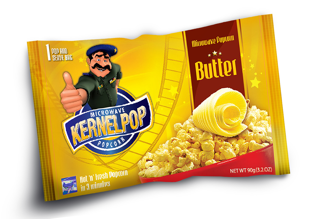 Kernel Pop Packaging