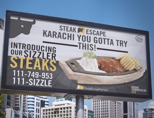 Steak Escape Billboard
