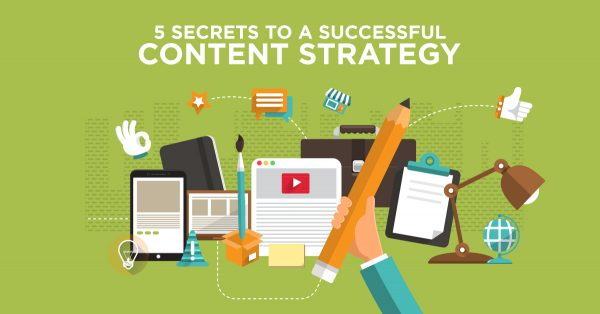 5 Secrets To A Successful Content Strategy
