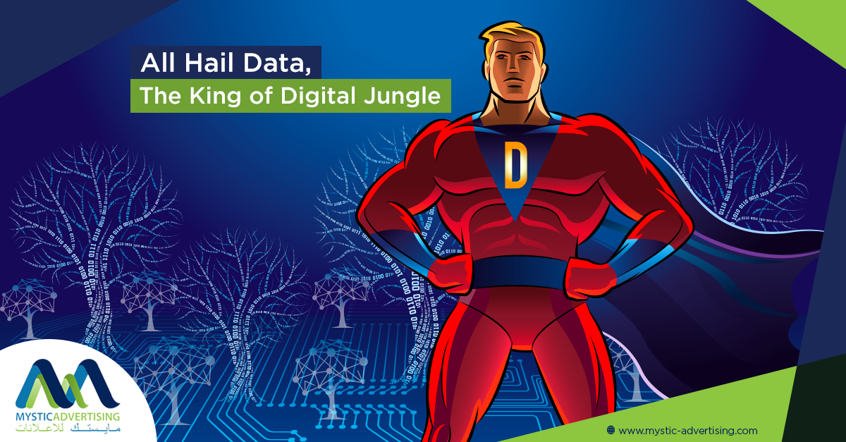 All Hail Data, The King of Digital Jungle