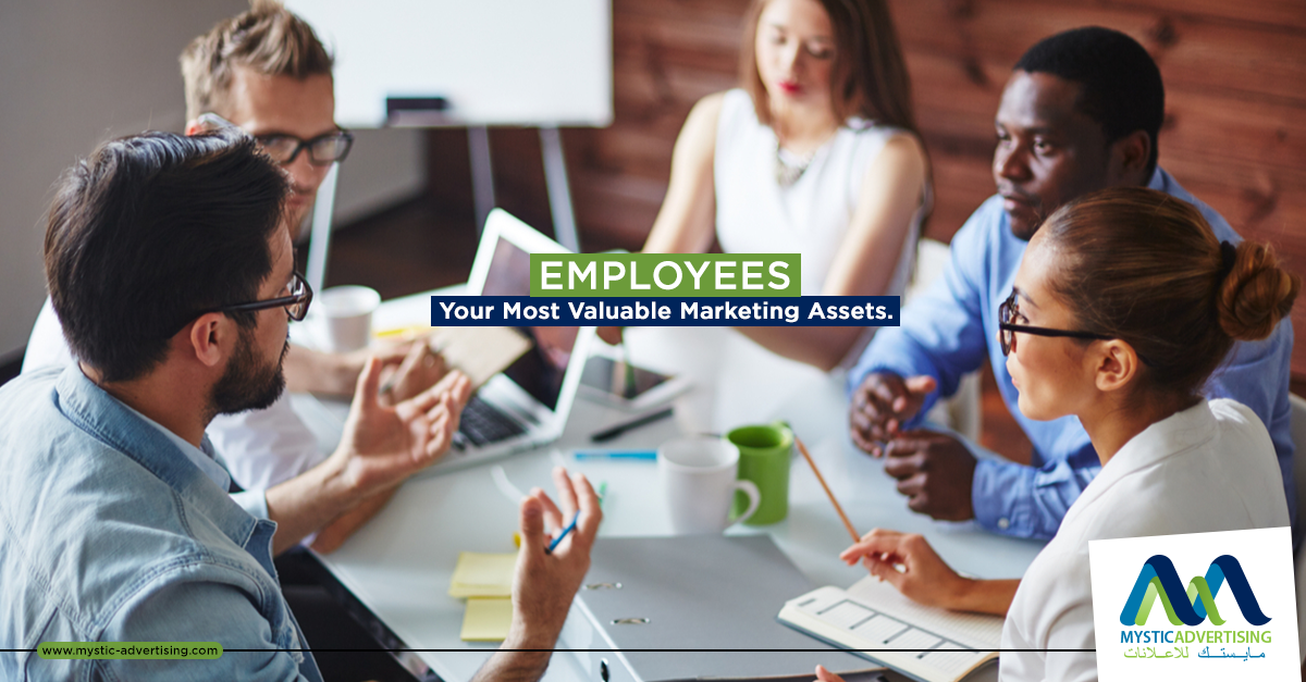 EMPLOYEES – Your Most Valuable Marketing Assets.